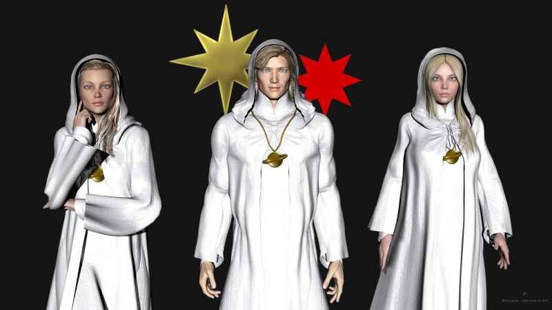 Black Saturn Group Hoods