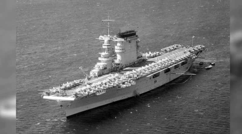 12 Lexington Aircraft Carrier