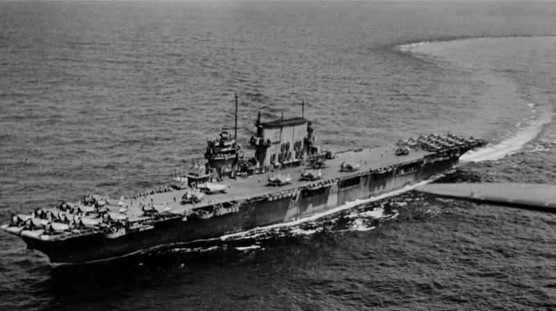 13 Saratoga Aircraft Carrier