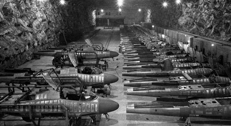 38 Underground Facility 2 Planes Tanks