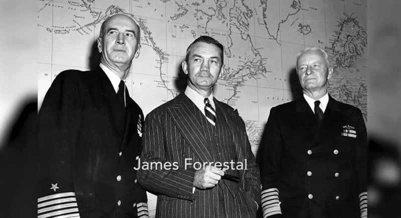 43 Secretary Of Navy James Forrestal